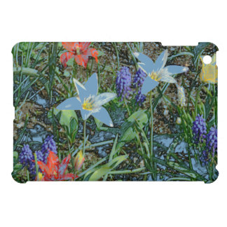 MIXED FLORAL/DIG.MANIP./PAINTERLY EFFECT/iPadMiniC iPad Mini Covers