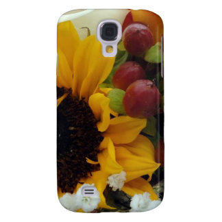 Mixed Flower Bouquet Samsung Galaxy S4 Case