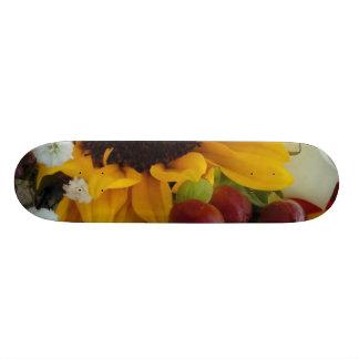 Mixed Flower Bouquet Skateboard Deck