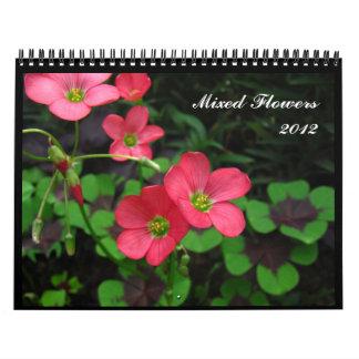 Mixed Flowers 2012 Calendar
