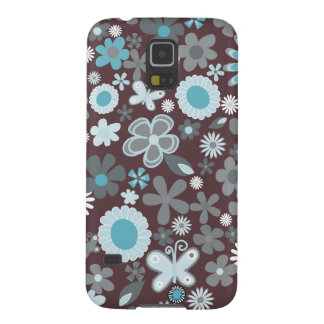 Mixed Flowers Galaxy S5 Case