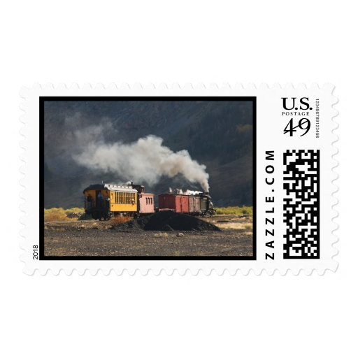 Mixed Freight in Silverton, Colorado Stamp