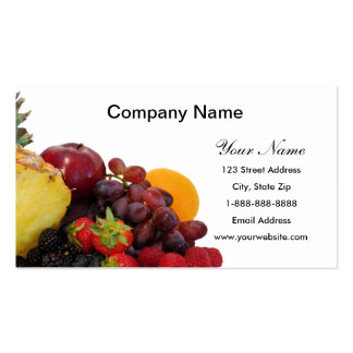 Mixed Fruit Business Cards