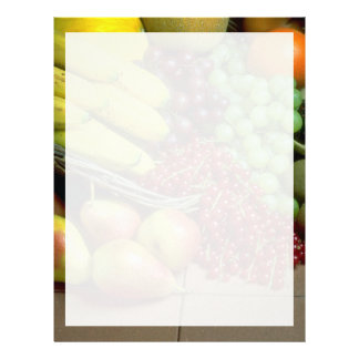 Mixed fruit letterhead