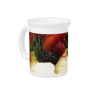 Mixed Fruit Drink Pitcher