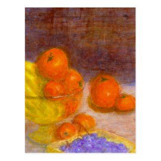 Mixed Fruit, Postcard