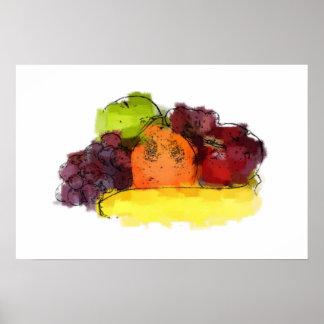 Mixed Fruit Poster