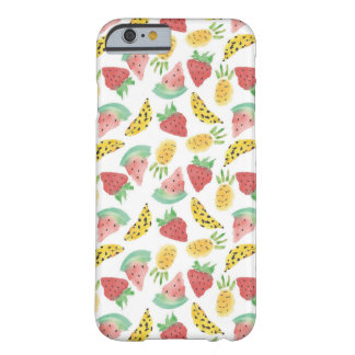 Mixed Fruits Barely There iPhone 6 Case