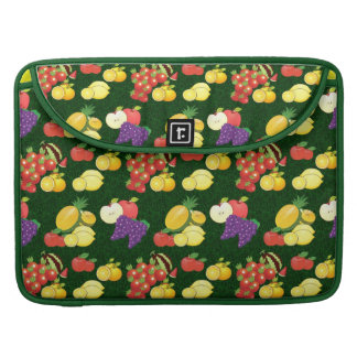 Mixed fruits pattern sleeves for MacBooks