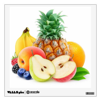 Mixed fruits wall decal
