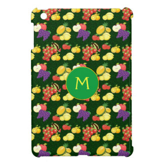 Mixed fruits with monogram case for the iPad mini