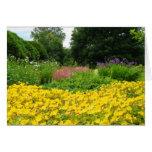 Mixed Garden Flowers Card