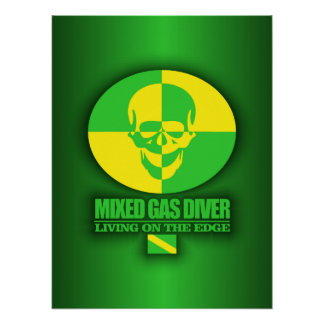 Mixed Gas Diver Poster