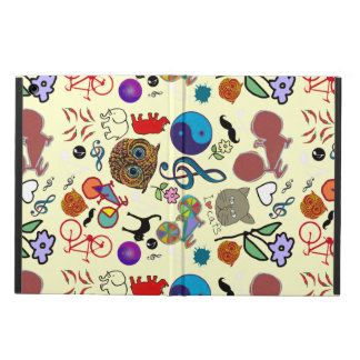 mixed girly images pattern case for iPad air