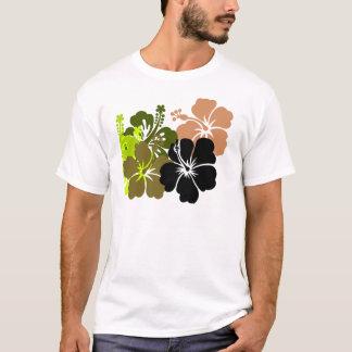 Mixed Hibiscus T-Shirt