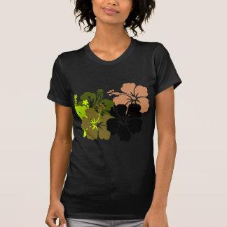 Mixed Hibiscus T Shirt