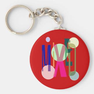 Mixed Keychain
