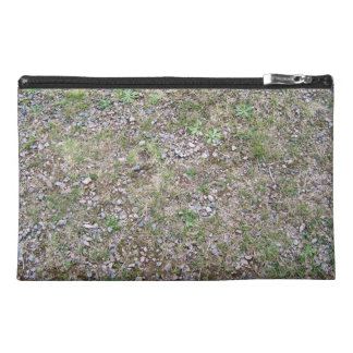 Mixed Leaves in Grass Travel Accessories Bags