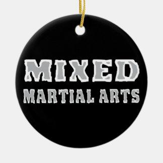 Mixed Martial Arts Ceramic Ornament
