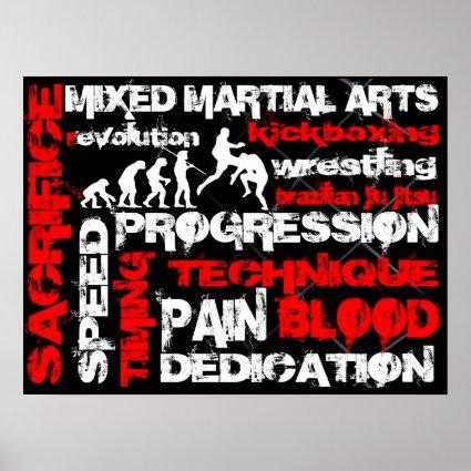 Mixed Martial Arts - Elements of Revolution Poster
