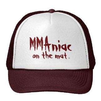 Mixed Martial Arts Hat Maniac Gift