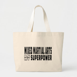 Mixed martial arts is my superpower canvas bags