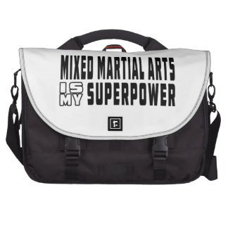 Mixed martial arts is my superpower laptop messenger bag