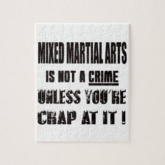 Mixed Martial Arts is not a crime Puzzles