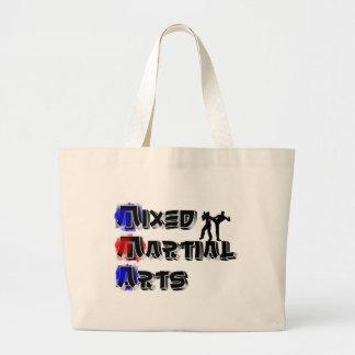 Mixed Martial Arts Large Tote Bag