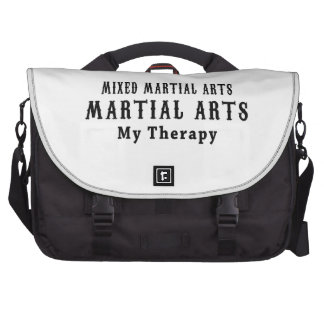Mixed Martial Arts My Therapy Laptop Bag