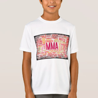 Mixed Martial Arts or MMA as a Grunge Concept T-Shirt