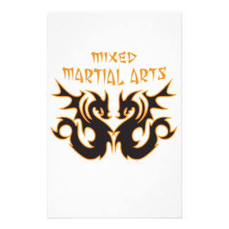 MIXED MARTIAL ARTS STATIONERY PAPER