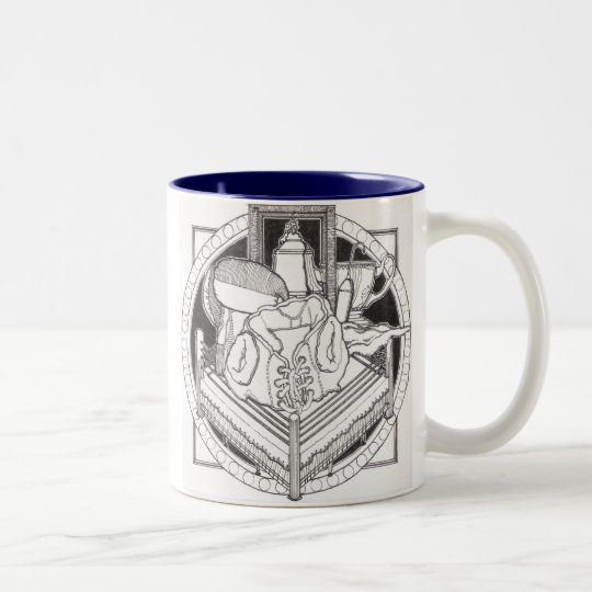 """Mixed Martial Arts"" Two-Tone Coffee Mug"