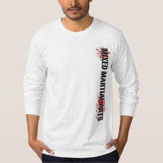 Mixed Martial Arts Vertical T-Shirt