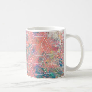 Mixed Media Bird Coffee Mug