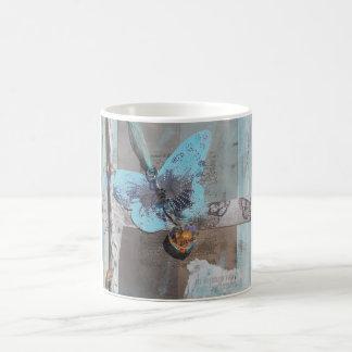 Mixed Media Butterfly Dreams Art Coffee Mug