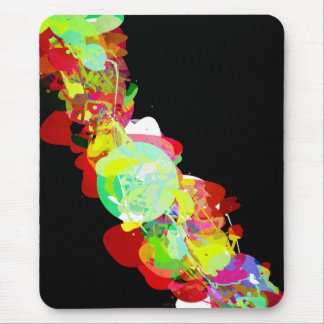 Mixed Media Colors 5 Mouse Pad