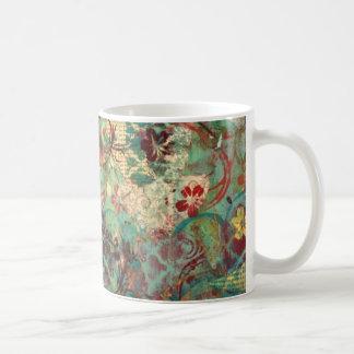 Mixed Media hand painted design Coffee Mug