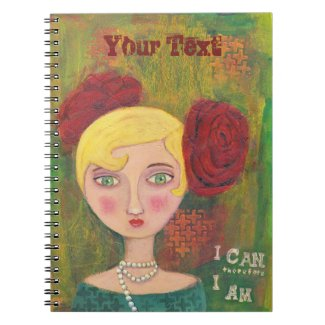 Mixed Media Lady : Sprial Photo Notebook
