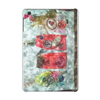 Mixed Media Layered Love Heart Rich Girl Mini Case iPad Mini Retina Cases