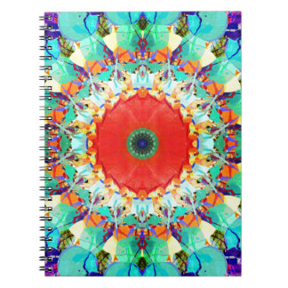 Mixed Media Mandala 4 Spiral Notebooks
