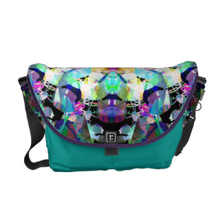 Mixed Media Mandala 8 Messenger Bag