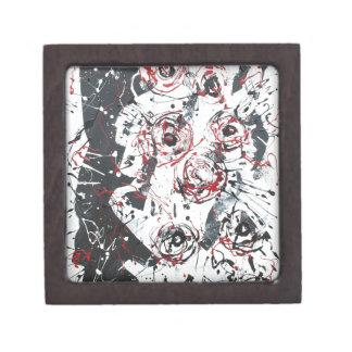 """""""mixed media""""""""ready to hang""""""""wall art""""abstract gift box"""