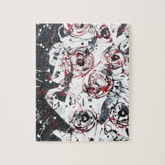 """""""mixed media""""""""ready to hang""""""""wall art""""abstract jigsaw puzzle"""