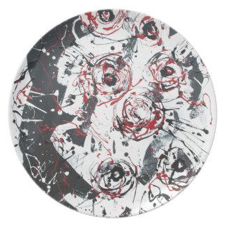 """mixed media""""ready to hang""""wall art""abstract melamine plate"