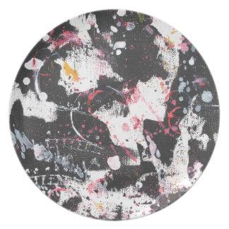 """""""mixed media"""",""""ready to hang"""", """"wall art"""",abstract plate"""