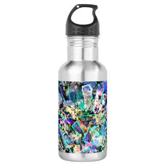 Mixed Media Water Bottle