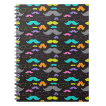 Mixed Mustaches Notebook