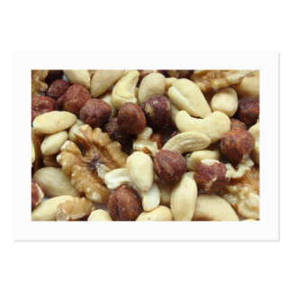 Mixed Nuts (Bordered) Large Business Card