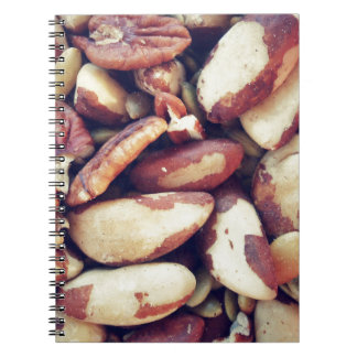 MIxed Nuts Spiral Notebook